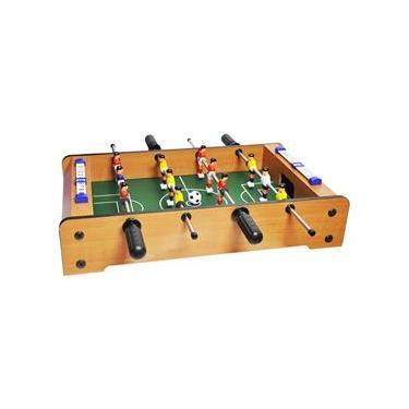 Jogo de Futebol Pebolim Totó Super Craque Junior Dm toys
