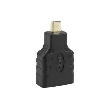 Micro HDMI para HDMI Fêmea Macho F/M Conector Adaptador Conversor de câmera de TV HD