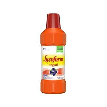 Desinfetante Lysoform Uso Geral Suave Odor Bactericida 500ml
