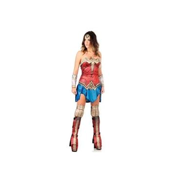 Imagem de Fantasia Mulher Maravilha Adulto Batman Vs Superman