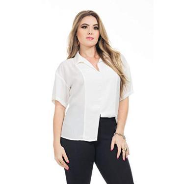 Blusa Clara Arruda Minimalista 20582-42 - Off White