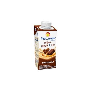 Bebida Láctea Piracanjuba Quinoa Linhaça Mocaccino 200ml