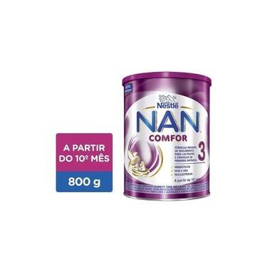 Fórmula Infantil NAN Comfor 3 Lata, 800g
