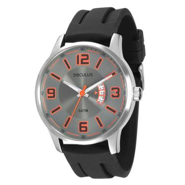 bb02d0184f7 Relógio Seculus Masculino Preto Analógico 28640G0SVNU2