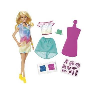 Barbie Crayola Criações com Carimbos - Mattel