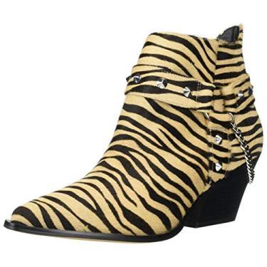 Jessica Simpson Bota feminina Zayrie2 Fashion, Natural Zebra, 8.5