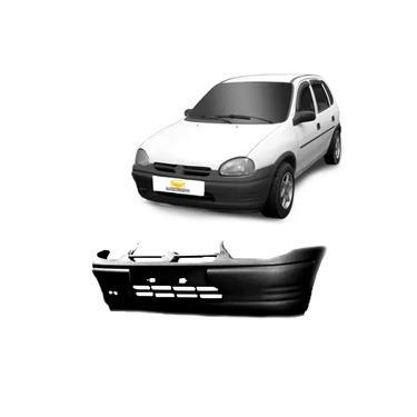 Parachoque dianteiro Corsa Wind 1994 98 1999 preto texturizado