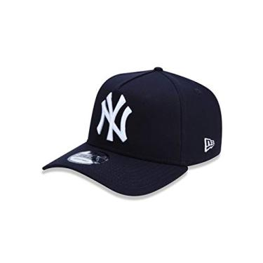 Imagem de BONE 9FORTY A-FRAME MLB NEW YORK YANKEES ABA CURVA SNAPBACK MARINHO New Era