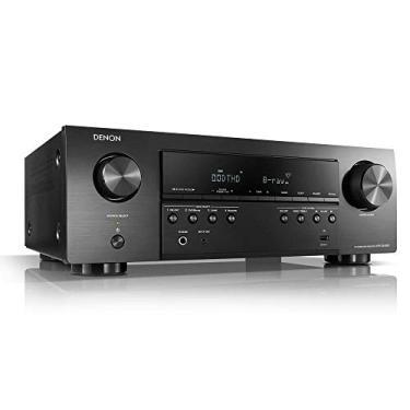 Receiver Denon Avr-s540bt 5.2ch 4k Uhd Hdr Bluetooth Usb Preto/110v