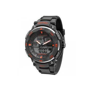 5e4e370247d Relógio de Pulso Mormaii Analógico Digital