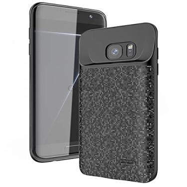 Capa Com Carregador Power Galaxy S7 Edge Carregador 5.000