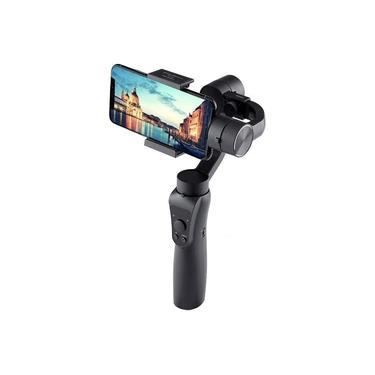Estabilizador Para Celular Gimbal 3 Eixos H4 Smartphone Fotos Vídeos Time-lapse