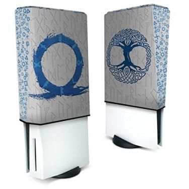 Capa Anti Poeira PS5 Vertical - God Of War Ragnarok