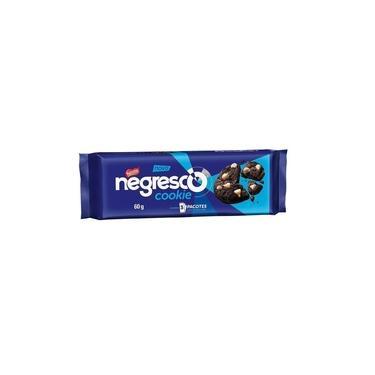 Cookies Negresco Chocolate Com Gotas De Baunilha Pacote 60g