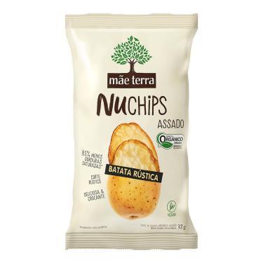 Chips Mãe Terra NuChips Batata Rústica 32g