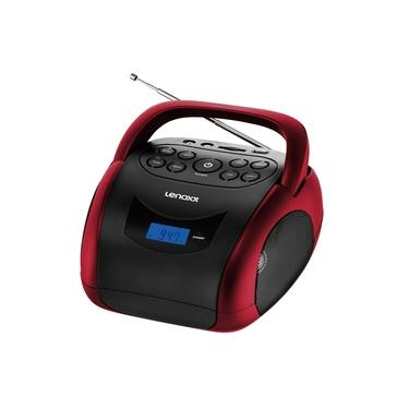 Boombox Lenoxx Bluetooth 4W SD BD150 Vermelho - Bivolt