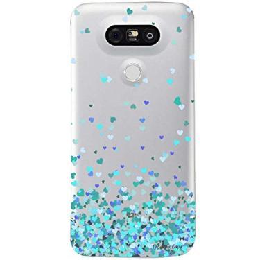 Capa Transparente Personalizada para LG G5/G5 SE Corações - TP172