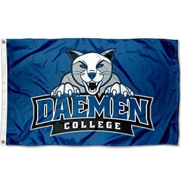 Bandeira da faculdade Daemen Wildcats