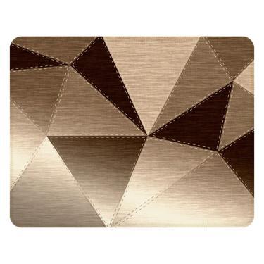 Tapete Love Decor Sala Wevans Metallic Cloth Marrom Único  unissex