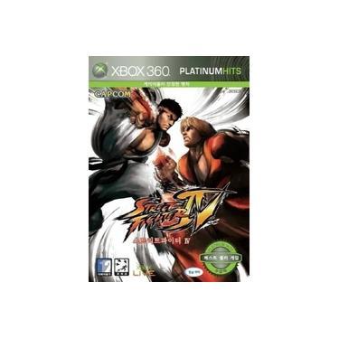 Jogo Street Fighter Iv Xbox 360 Platinum Hits Lacrado