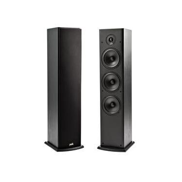 Polk Audio T50 - Par de caixas acústicas Torre 100w Preto