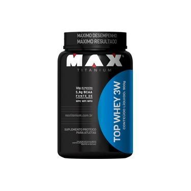Whey Protein Top Whey 3w 900g Max Titanium - Sabores