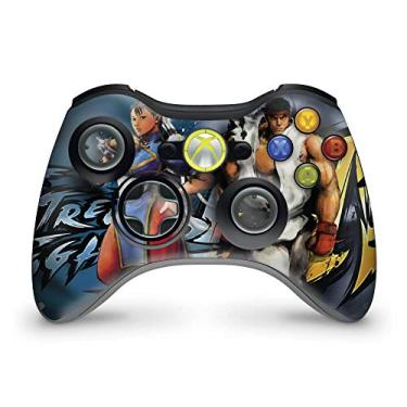 Skin Adesivo Para Xbox 360 Controle - Street Fighter 4#b