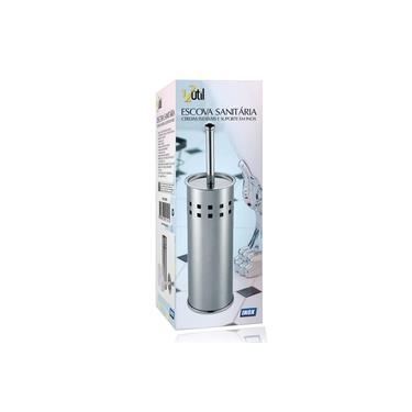 Escova Sanitaria Para Vaso Banheiro Limpeza Aço Inox Esfrega