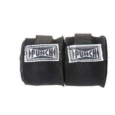 Bandagem Elástica 50 Mm - 3,00 Mts Punch Unissex 3,00 Compr. X 0,05 Largura Preta