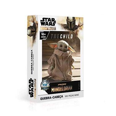Imagem de Quebra Cabeça 500 Peças Nano -The Child - the Mandalorian - Star Wars, Toyster Brinquedos