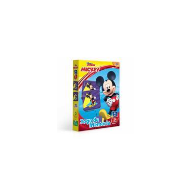 Imagem de Jogo da Memória Infantil - Disney Junior - Mickey - 48 peças - Toyster