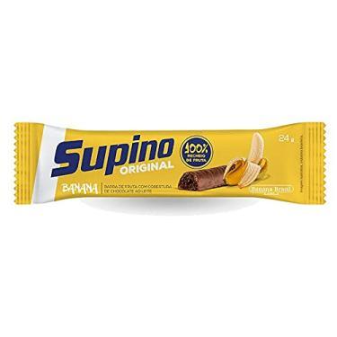 Imagem de Barra de Fruta Supino Banana com Chocolate com 24g