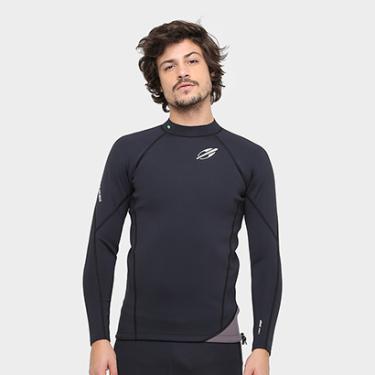 Camisa Surf Mormaii Neoprene Snap 1.0 mm Masculina - Masculino 2f389c9859a
