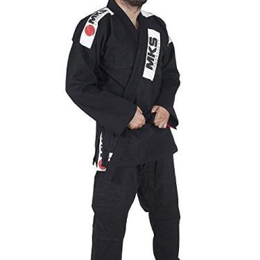 Kimono Jui Jitsu Mks Combat Preto A3