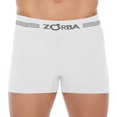 Cueca Boxer Zorba Seamless Free 844 G Branco