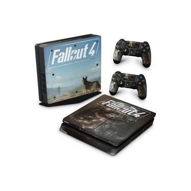 Skin Adesivo para PS4 Slim - Fallout 4