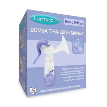 Bomba Tira-Leite Lansinoh Manual Basic Edition 1 Unidade