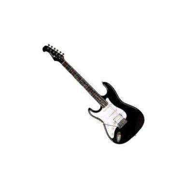 Imagem de Guitarra Canhota Eagle Strato STS002E 2s 1h Preto