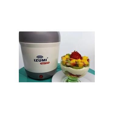 Imagem de Iogurteira Elétrica Cinza Izumi Bivolt 1 Litro Modelo Novo!