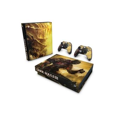 Skin Adesivo para Xbox One X - Dark Souls 3