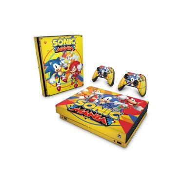 Skin Adesivo para Xbox One X - Sonic Mania