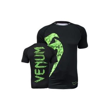Rash Guard Venum Giant Preto/verde