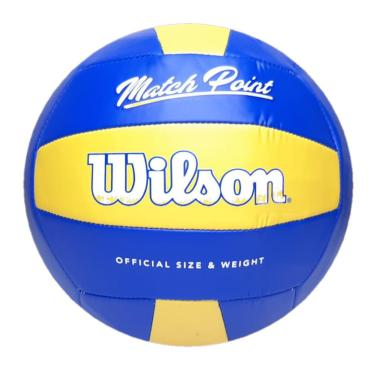 Bola De Vôlei Wilson Match Point Azul