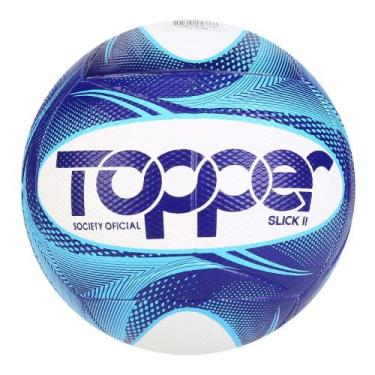 Imagem de Bola De Futebol Society Slick Ii 19 Topper Exclusiva