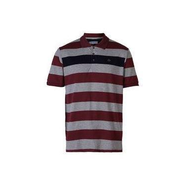 49dd681e7 Camisa Polo Masculina City Gear - Vinho