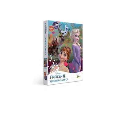 Imagem de Quebra Cabeça - 100 Peças - Frozen 2 - Elsa e Anna - Toyster