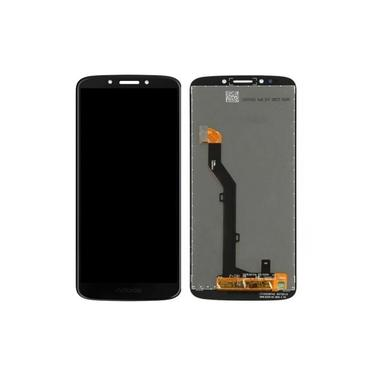 Display Tela Lcd Frontal Touch Moto G6 Play Preto