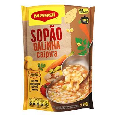 Sopão, Galinha Caipira, Maggi, Sachê, 200g