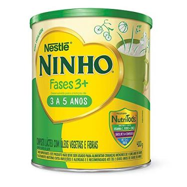 Composto Lácteo, Ninho, Fases 3+, 400g