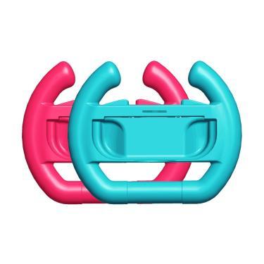 Controlador apertos de mão caso joy-con raquete de tênis volante para nintend switch lidar com ns